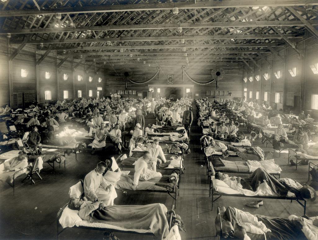 Un secolo indietro:tutto sopra l'influenza Spagnola del 1918