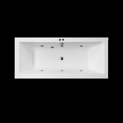 Hydromassage bathtub
