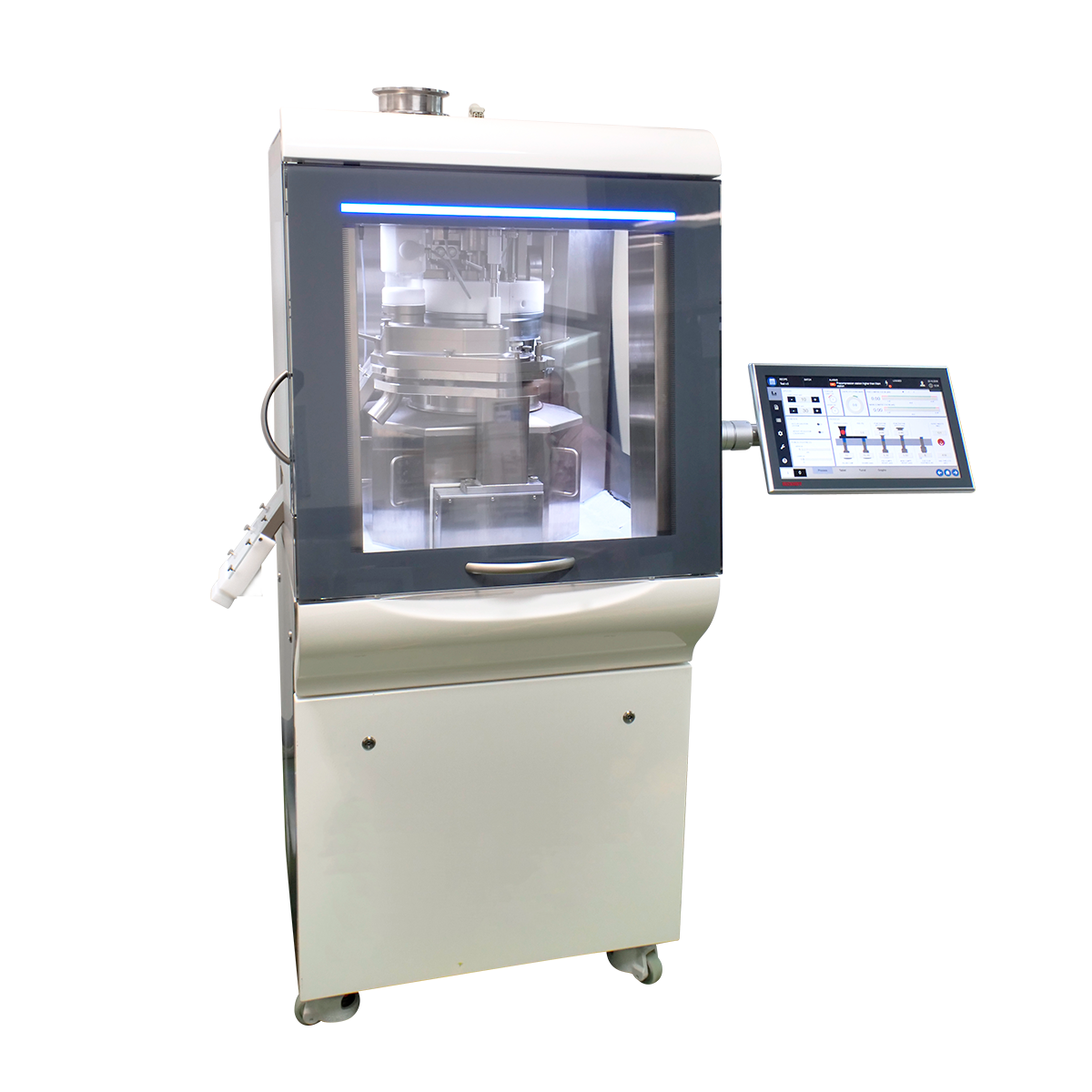 Dedusters for the pharmaceutical industry