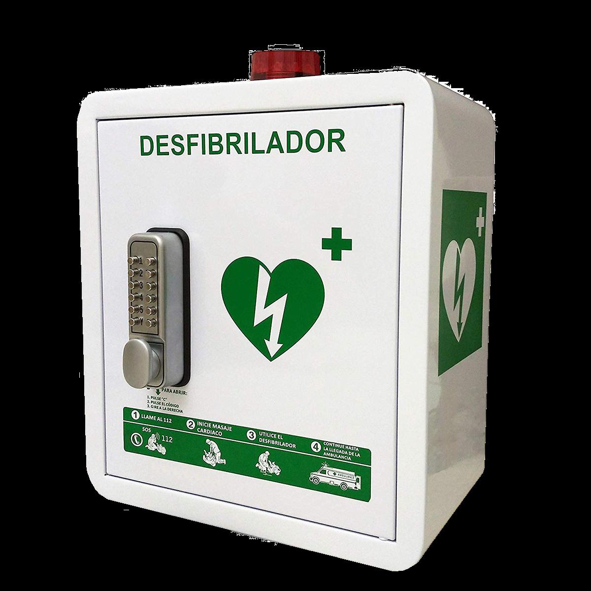 Defibrillator cabins