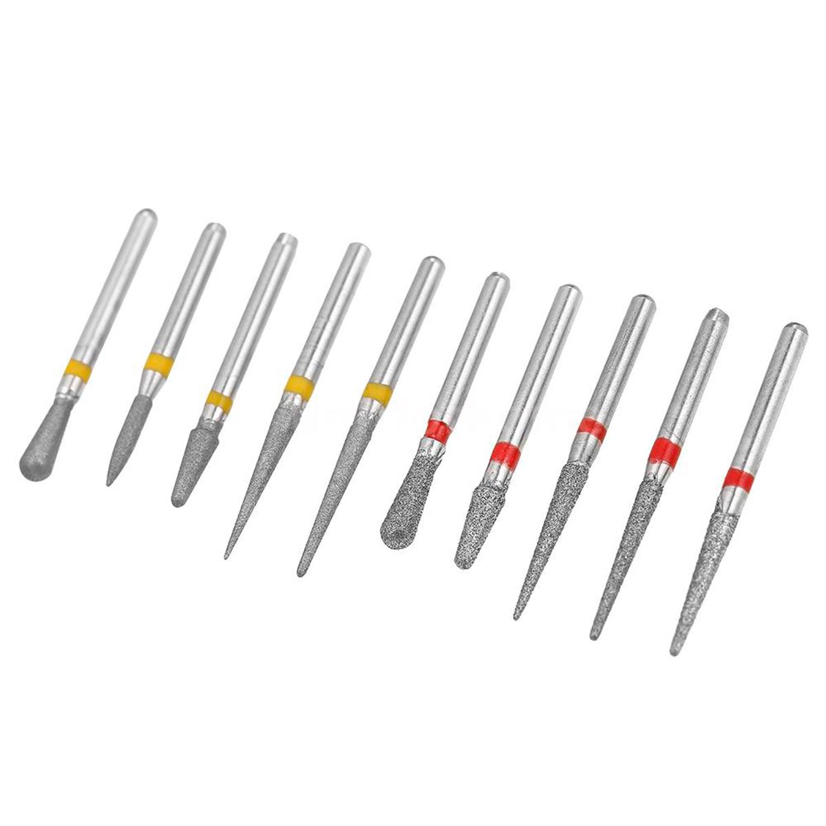 Dental drill bits