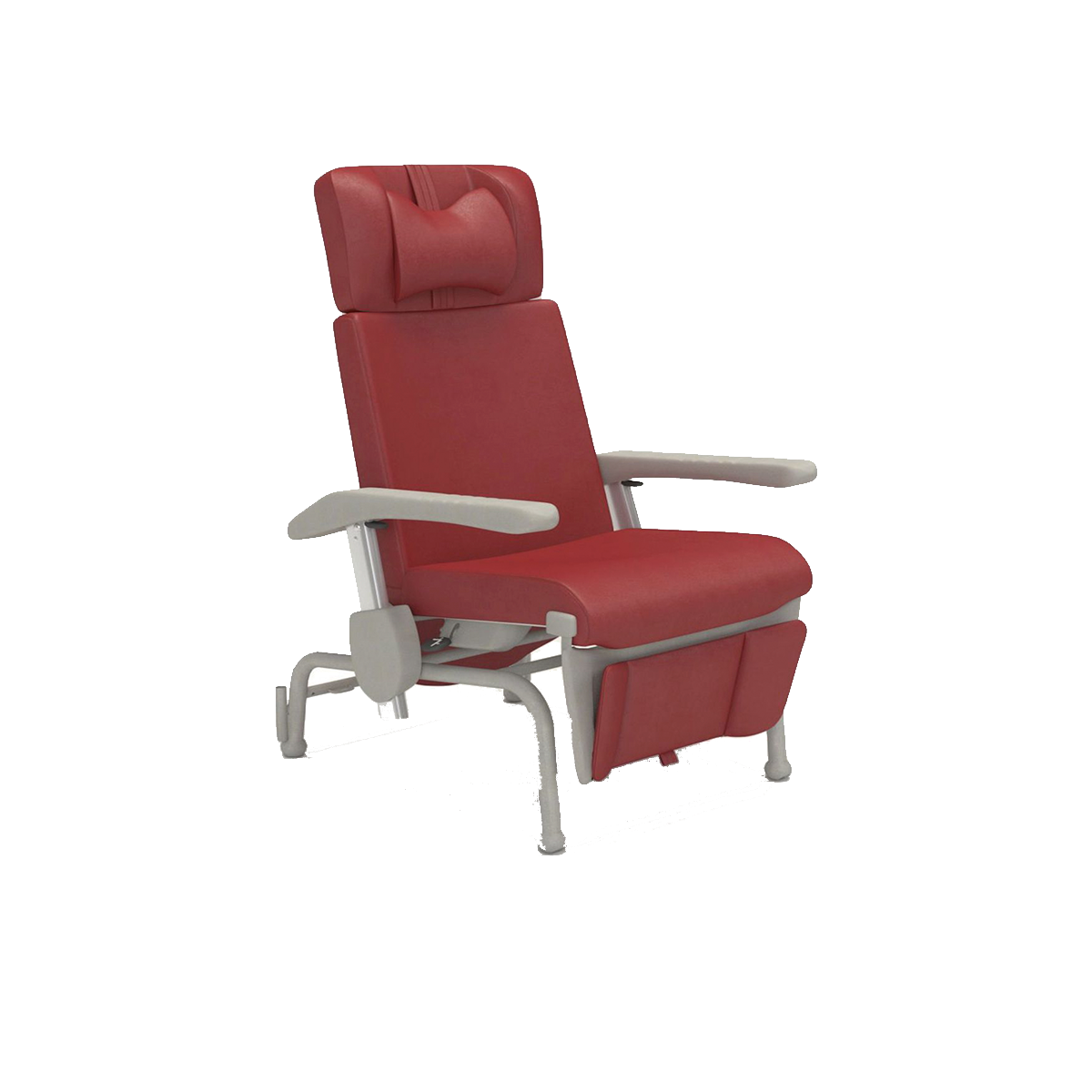 Fixed treatment chairs