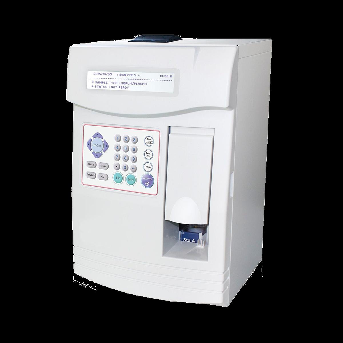 Human electrolyte analyzers