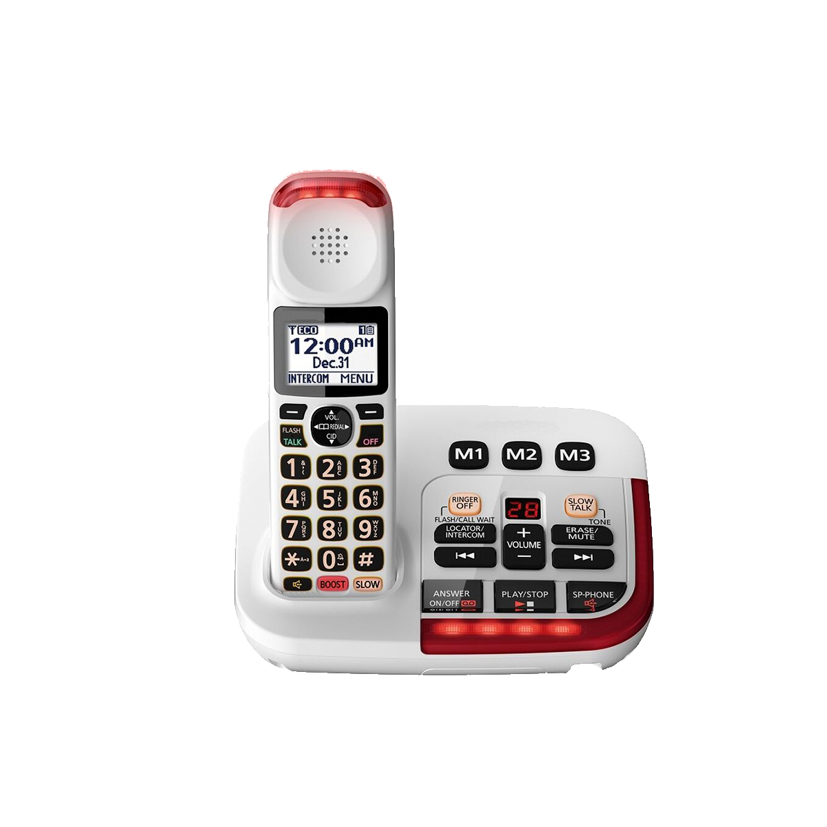 Medical telephone handsets