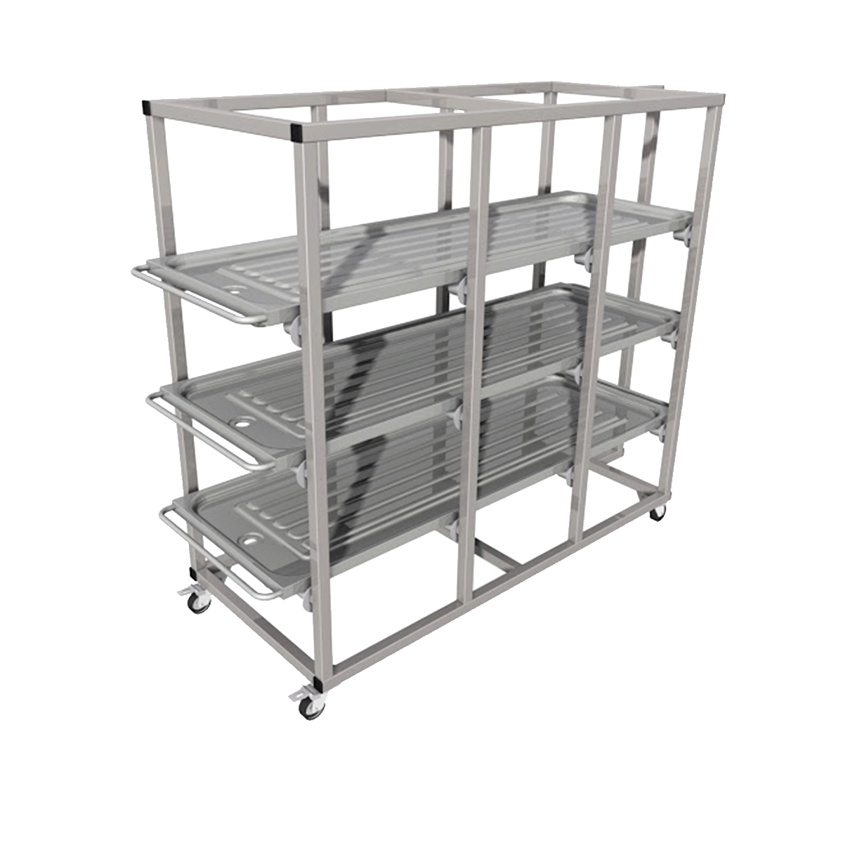 Mortuary shelving units