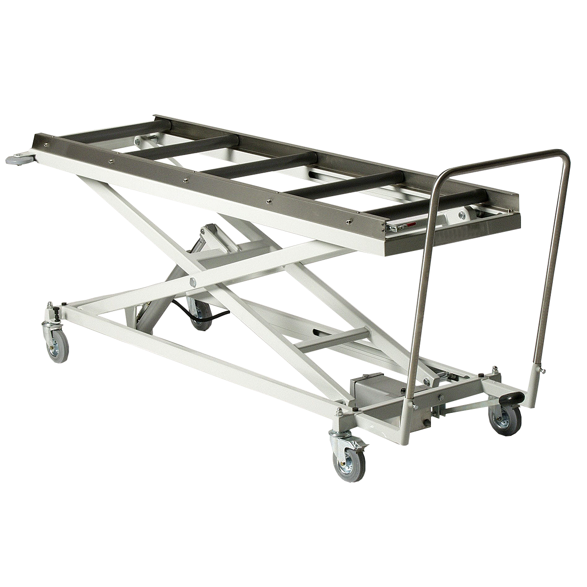 Mortuary stretchers trolleys