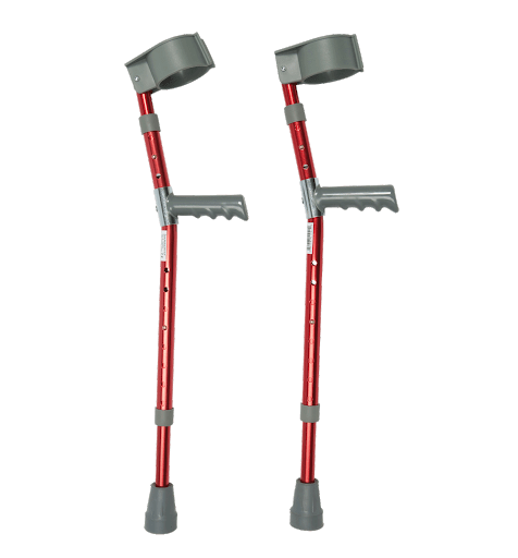 Lightweight Aluminum Crutches