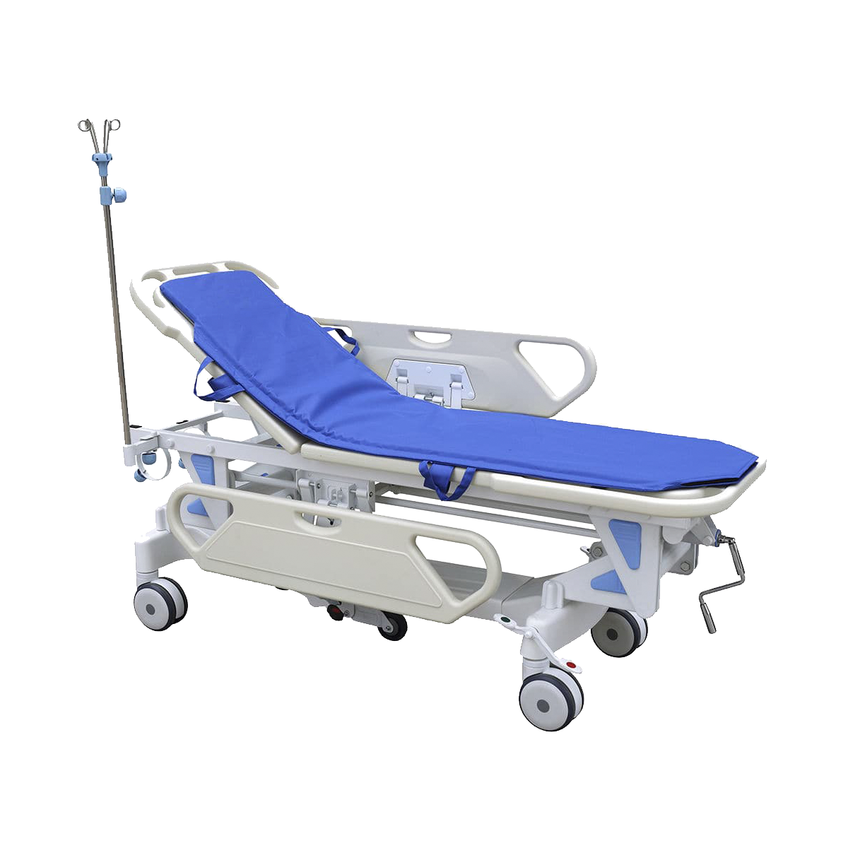 Patient transfer stretcher trolleys
