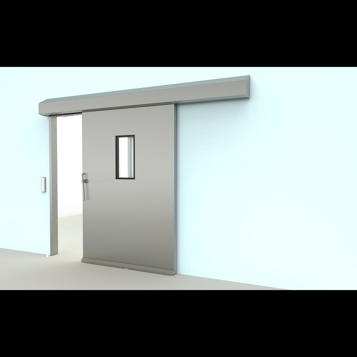 Laboratory door