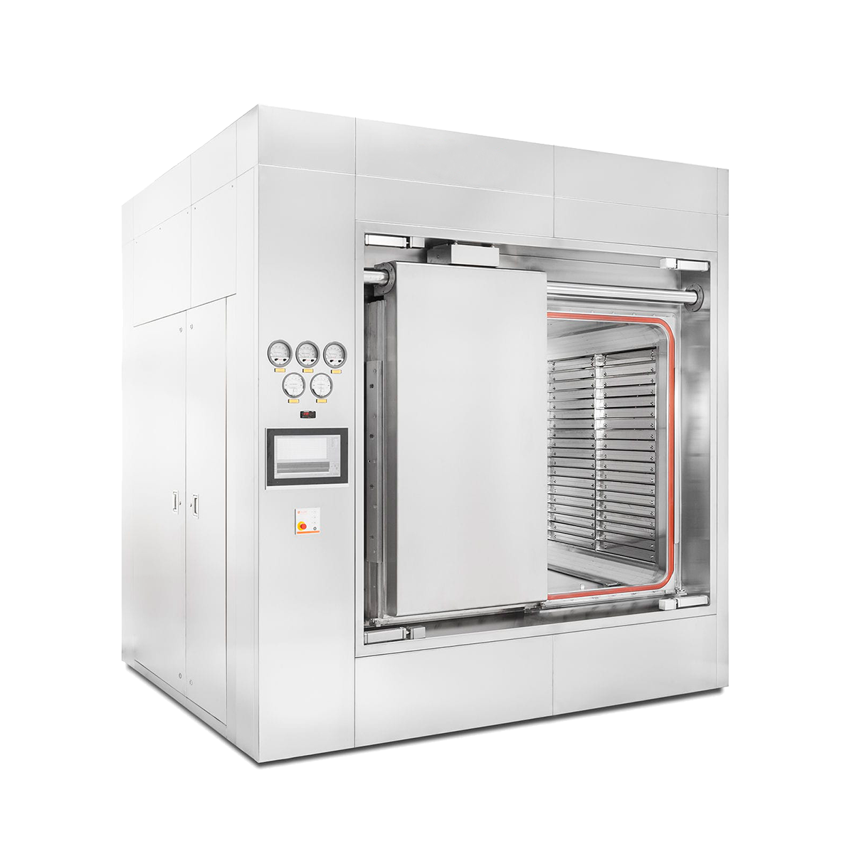 Sterilizers for the pharmaceutical industry