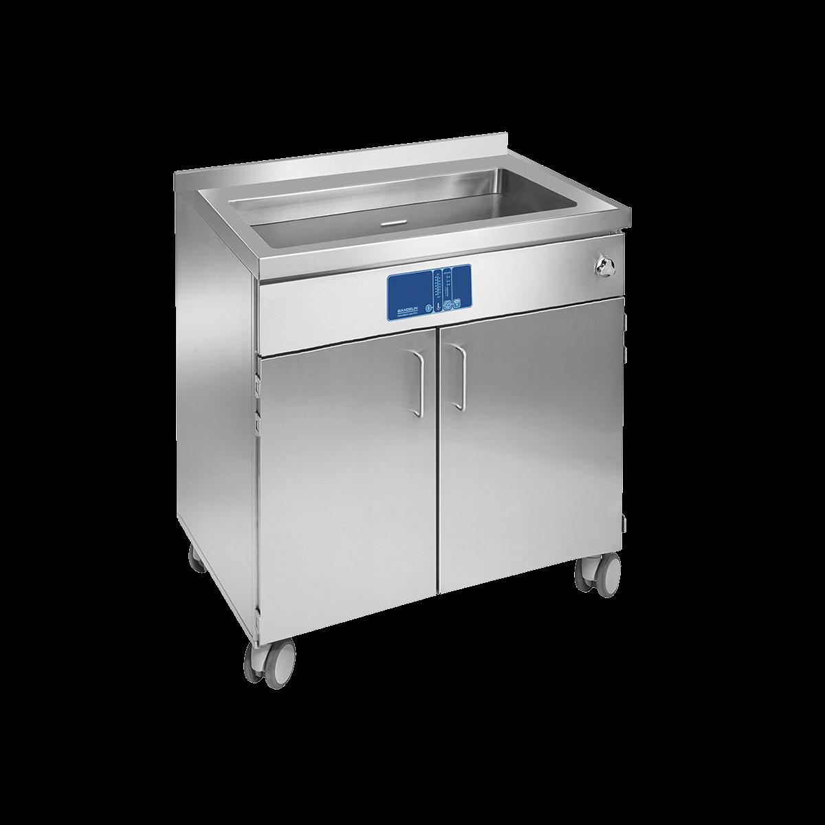 Ultrasonic laboratory baths