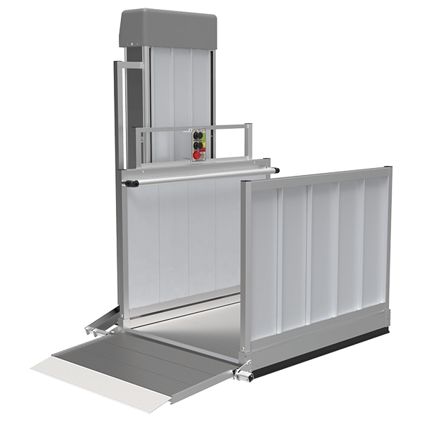 Wheelchair platform lift